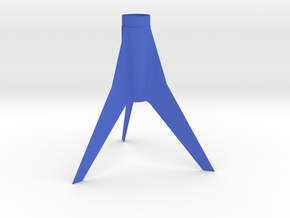 Classic Astron Drifter-style Fin Unit for BT-50 in Blue Strong & Flexible Polished