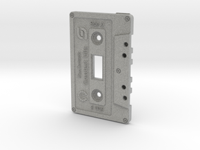 Cassette Light Switch Plate in Metallic Plastic
