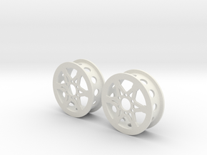 """1.9"""" Wheel for RC4WD Hub in White Strong & Flexible"""