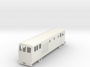 009 Bo-Bo dual cab diesel loco with portholes  in White Strong & Flexible