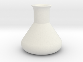 Erlenmeyer Flask in White Strong & Flexible