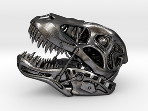 Terminator REX (small scale) in Polished Grey Steel