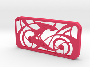 Innovative Bicycle iPhone5/5s Case in Pink Strong & Flexible Polished