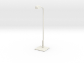 Modern urban lightpost in White Strong & Flexible