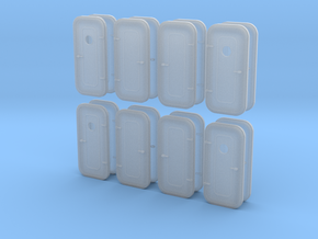 1:48 Watertight Doors - multiple versions - 16 ea in Frosted Ultra Detail