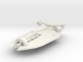 3 Missile Cruiser in White Strong & Flexible