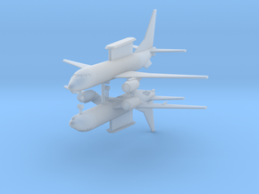 1/700 E-7A Wedgetail AEW&C (x2) in Frosted Ultra Detail