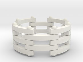 segmented ring 2 in White Strong & Flexible