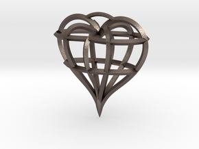Heart of love in Stainless Steel