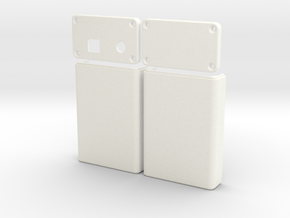 Arduino Case in White Strong & Flexible Polished