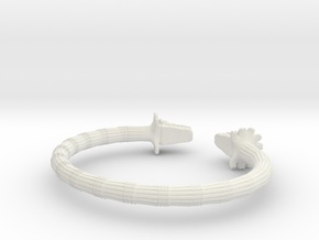 Pulsera Quetzalcoatl in White Strong & Flexible