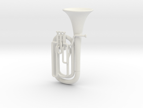 Baritone Horn in White Strong & Flexible