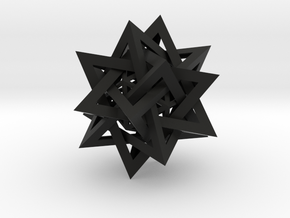 Five Tetrahedra Plus in Black Strong & Flexible