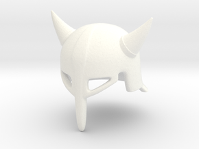 Fantasy Helmet T.L2 (tbn) in White Strong & Flexible Polished
