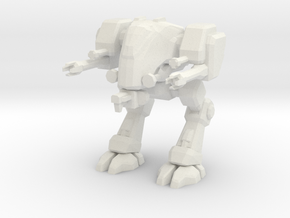 Goliath mech walker in White Strong & Flexible