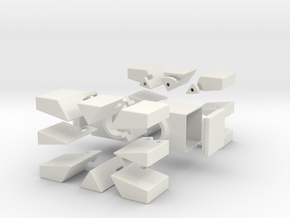 Square 321 in White Strong & Flexible