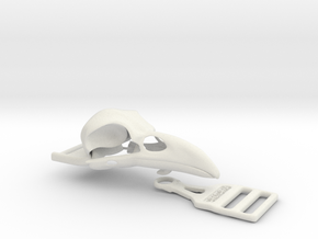 Raven buckle in White Strong & Flexible