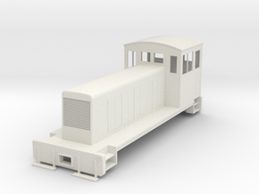 ON30 conversion body for switcher chassis in White Strong & Flexible
