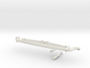 1/8 scale front axle  in White Strong & Flexible