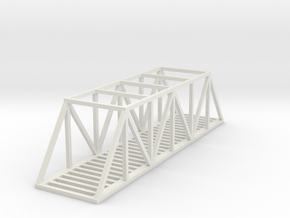 Bridge - 100 foot - Zscale in White Strong & Flexible