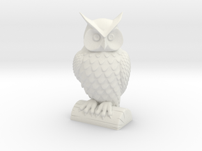 Owl in White Strong & Flexible