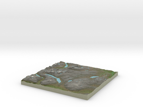 Terrafab generated model Tue Nov 05 2013 21:50:30  in Full Color Sandstone