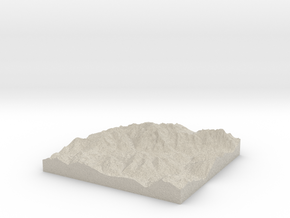 Model of Peindein in Sandstone