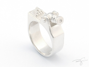 1346 in Polished Silver
