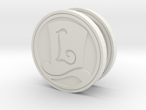 Layton Hat Coin in White Strong & Flexible