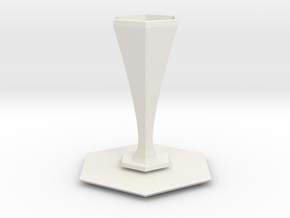 peel vase in White Strong & Flexible