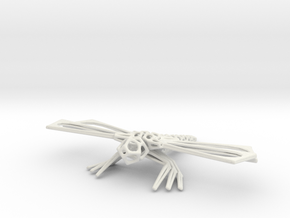 DragonFly in White Strong & Flexible