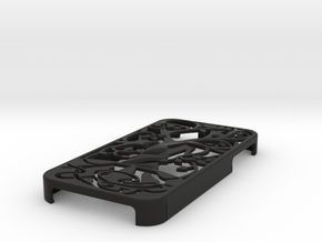 "Iphone 4, 4S case ""Tree of life"" in Black Strong & Flexible"