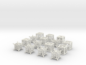 Grid Die All Pack 7 of 13 in White Strong & Flexible
