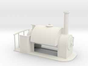 Gn15 Saddle tank  in White Strong & Flexible