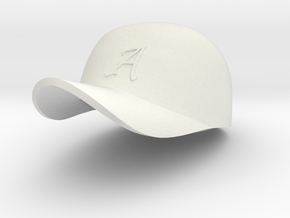 REDNECK/trucker Baseball cap in White Strong & Flexible