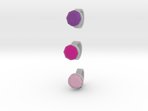 3 Size 11 Lara Rings in Full Color Sandstone