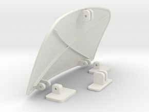 Air-dam-assy in White Strong & Flexible