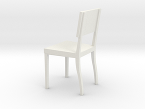 1:24 AngChair 1 in White Strong & Flexible