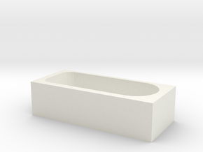 1:48 tub 1 in White Strong & Flexible
