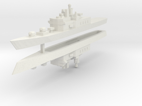 JMSDF Shirane Class DDH-144 1:2400 x2 in White Strong & Flexible