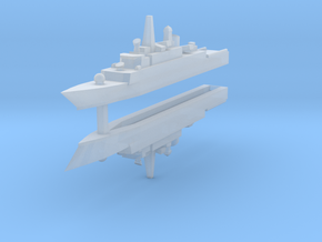 Mowj Frigate 1:2400 x2 in Frosted Ultra Detail