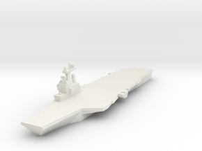 Charles de Gaulle CVN 1:3000 x1 in White Strong & Flexible