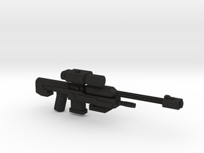 SRS99 D-2 Sniper Rifle in Black Acrylic