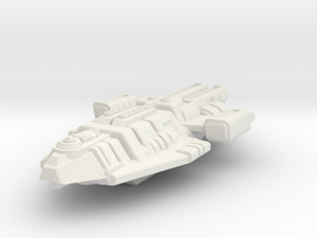 Starship Transport Hybrid in White Strong & Flexible