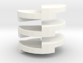 Penrose Puzzle in White Strong & Flexible Polished