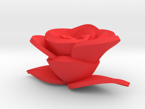 Rose in Red Strong & Flexible Polished