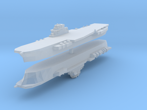 Clemenceau Carrier 1:4800 x2 in Frosted Ultra Detail