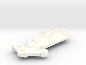 Danari Starship in White Strong & Flexible Polished