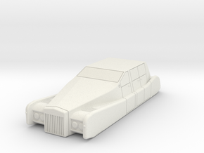 AC10 Spirit Luxury Air Car (28mm) in White Strong & Flexible