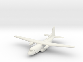 1:700 Transall C-160 military transport aircraft  in White Strong & Flexible